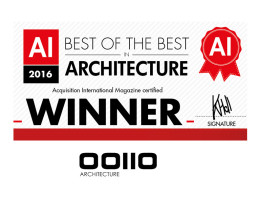 Best of the Best in Architecture-OOIIO