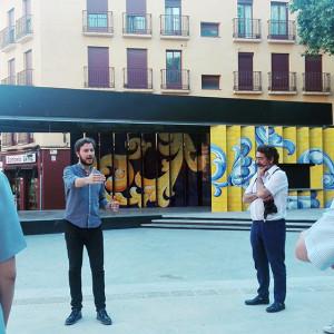 Presentación de la Plaza del Salvador.