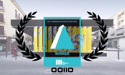Premio Internacional de Arquitectura al mejor Diseño Urbano.