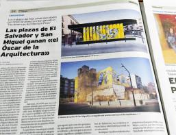 OOIIO´s plazas in Talavera win international architecture award.